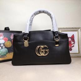 2019 boîte à selle bandoulière sacs de messager sacs à main de luxe célèbres bonne qualité sacs en cuir sacs de style classique sac de selle sac à poussière boîte (37x19.5x8.5) 550130 boîte à selle pas cher