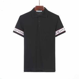 2017 designer italien polo shirt t-shirt marque de luxe de la fleur de tigre broderie hommes polo high street fashion imprimé rayé t-shirt ? partir de fabricateur