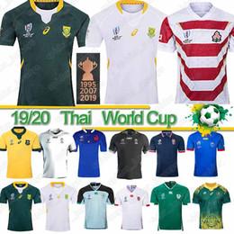 camisas de samoa Rebajas Copa Mundial de África tailandés Japón de rugby de Irlanda del Sur jersey de la RWC Fiji Samoa Australia Nueva Zelanda jerseys NRL 2019 camisas de Rugby League calientes
