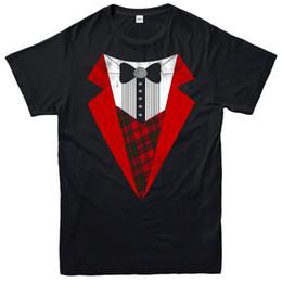 Smoking t-shirt de noël, costume de Noël costume cerf cadeau festif adulte enfants tee-shirt t-shirt casual homme manches courtes loisirs ? partir de fabricateur