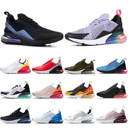 gold zukunft Rabatt nike airmax 270 Vapormax Air max off white vm 27C Tennis-Laufschuhe Kissen THROWBACK FUTURE Indigo Blue BARELY ROSE Pink Triple White Vollschwarz Herren Sneaker Damen Spors Trainer