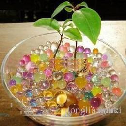 вода растение желе хрустальный шар Скидка Marki шарики воды 1000г Магия растений Кристалл почвы грязи для воды Бусины жемчужные ADS Jelly хрустальный шар 16A