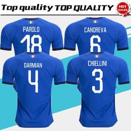 aefdafeee 2018 2019 Italy soccer jerseys EL SHAARAWY PIRLO BONUCCI DE ROSSI INSIGNE  VERRATTI CHIELLINI home away football jersey shirts Adults shirts