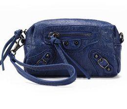 Münzen maschine online-kleine Tasche crossbody Eine Liya neue Mini-Nietmaschine Handtasche Messenger Bag Quaste Münze Geldbörse Mode Handtasche