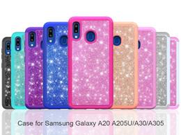 дизайн bling case Скидка Для Samsung A10E A20 A30 A50 Bling Блеск Обложка двухслойный противоударный Hybrid чехол для Samsung S10 Note10 Luxury Design Case