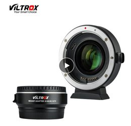 Booster-adapter online-Viltrox EF-EOS M2 Brennweitenreduzierer-Booster-Adapter Autofokus 0,71-fach für Canon EF-Mount-Objektiv an EOS M-Kamera M6 M3 M5 M10 M100 M50