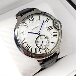 Famous Brand C T R Orologi di lusso BALLON serie circolare Hollow Stars quadrante in pelle Starp 1904 PS orologio meccanico automatico da