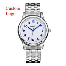 2019 oem relógio homens Relógio feito sob encomenda do logotipo do costume de B-8204 Relógio clássico do OEM da faixa de aço inoxidável dos homens dos relógios do negócio com número árabe oem relógio homens barato