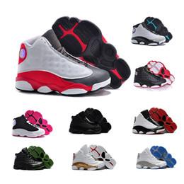 13s chaussures de basketball enfants noirs grands chats 13 histoire de  Flight Hyper Royal garçons filles espadrilles athlétiques infantile Chicago  Bred ... ef01a3774