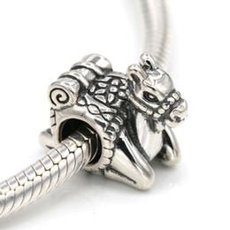 Bracelet de chameaux en Ligne-Argent sterling 925 Original Perles De Charme De Chameau Assorties De Bracelets De Charme Européens Diy Bijoux Y19070902