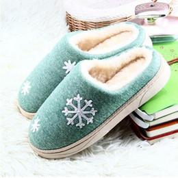2019 zapatillas de casa de felpa Mujeres de invierno cálido zapatillas Ful Zapatillas de mujer Zapatillas de algodón Amantes de las ovejas Zapatillas de casa de tamaño de felpa interiores Mujer al por mayor zapatillas de casa de felpa baratos