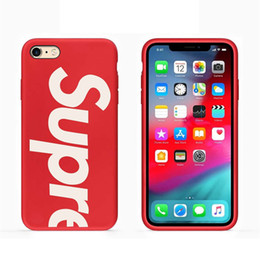 iphone case fashion brand Coupons - Fashion Sup Hard Tpu Cover Case Japan Trend Brand For Iphone 6 6S plus 7 7plus 8 8plus X XS XR Max