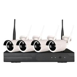 Sistema di sorveglianza di sicurezza della fotocamera esterna wireless online-Wetrans Wireless Security Camera Sistema 1080P IP Camera Wifi SD Card Outdoor 4CH Audio Sistema CCTV Video Surveillance Kit Camara