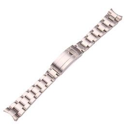 Königsbürsten online-watchpei edelstahl Passend zu Role Labor Steel Brushed Ghost King Uhr mit schwarz blau grün Wasser Ghost Series 20 21mm Armband