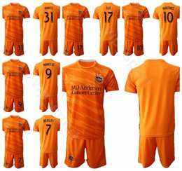 2020 tommy shirts 19-20 FC Houston Dynamo 8 Memo Rodriguez Jersey Set Soccer 22 Matias Vera 11 Tommy McNamara 23 Joe Willis Football Shirt Kit tommy shirts economici