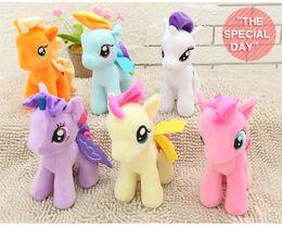 juguetes de peluche de pony Rebajas felpa juega el regalo de los niños 25cm animal de peluche de juguete Mi Collectiond Edición felpa juguetes de envío de los potros de Spike como regalos para los niños juguetes
