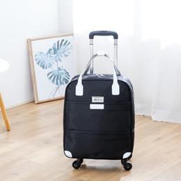 2019 bloqueo de equipaje de dibujos animados Rosa Sugao de viaje bolsa de diseñador hombres y mujeres maleta de grandes maletas bolsas de viaje material de nylon nueva venta caliente de la manera BHP
