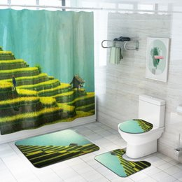 discount shower curtains scenery shower curtains scenery 2019 on rh dhgate com