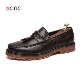 Ectic 2019 Classic Italian Light Men Penny Loafer Formal Dress Shoes Wedding Luxury Style Bello Calcado Hombre da