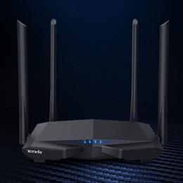 Повторитель для маршрутизатора онлайн-Новый Tenda AC6 Wi-Fi маршрутизатор двухдиапазонный 1200M 11AC беспроводной маршрутизатор Wi-Fi ретранслятор 2,4 ГГц / 5,0 ГГц приложение дистанционного управления английский интерфейс