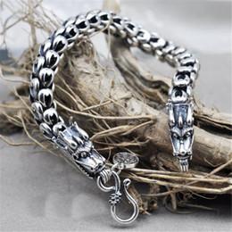 drachen silber armband männer Rabatt Dragon Scale modische und überhebliche  klassische Kette S925 Thai Silber Armbänder 322fec86a7