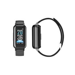 2019 дешевые часы bluetooth smart Мода T89 смарт-браслеты браслет TWS наушники Bluetooth наушники Трекер сердечного ритма браслет спортивные часы для IOS Android смартфонов