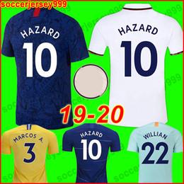 283bb43f0 atlanta falcons jerseys 2019 - CFC HAZARD 19 20 soccer jersey JORGINHO  GIROUD MORATA football shirt