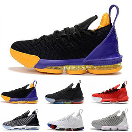 ec94273993d size 16 shoes women Coupons - King 16s Basketball Shoes For Mens Black  White Outdoor Athletic