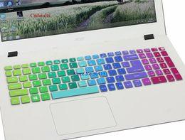 Streben sie keyboards an online-15,6 zoll tastatur silikon tastatur schutzfolie für acer aspire e15 e5 -573g 532 522 v3 -574 f5 -572g vn7 -592g t5000 tmp258 t190619
