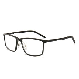 317a6e2101 Cubojue Glasses Frame Men Sports Aluminum Eyeglasses Man s Prescription  Spectacles Spring Hinge Full Rim Ultra-light Optical
