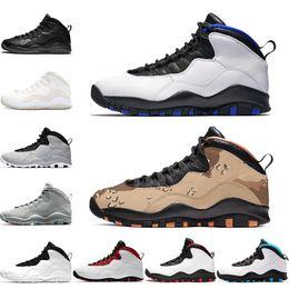 best sneakers 2a35e 4afb1 luft kühl Rabatt Nike Air Jordan Retro 10er Jahre Basketballschuhe 10 Männer  Orlando Desert Camo Cement