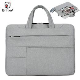Deutschland Brilljoy Ultradünne Handtasche für Dell Asus Lenovo HP Acer Computer Laptop-Aktentasche11 12 13 14 15 Zoll für MacBook Air Pro-Tasche # 376241 cheap macbook 12 Versorgung