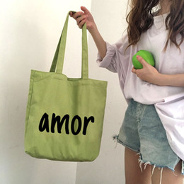 regali marketing Sconti lettera borsa in tela personalizzata shopping bag regali pubblicitari pieghevole borsa riutilizzabile logo creativo stampa handabg borsa mercato eco design