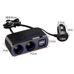 Caricatore per auto doppio USB a due fori 80W 3A caricatore per auto due minuti un minuto SD-1928A 0033 da xiaomi mi box fornitori