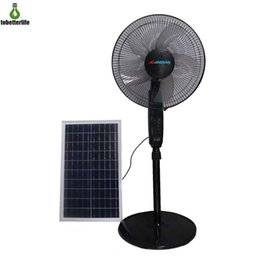 street gears Coupons - Solar Fan 24000MAH 25W Cooling Fan Electric Fans Air Cooler for Outdoor Home Office 10 gear