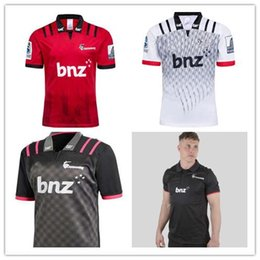 Argentina Crusaders 2019 Super Rugby Players Media Polo 2018 2019 Nueva Zelanda Crusaders Camisetas de rugby Crusaders Super Rugby jersey talla S-3XL Suministro