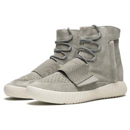 buy online 9a2ea 4d175 bottes ouest de kanye Promotion Kanye West 750 Boost Hommes Triple Noir  Gomme Haute Cheville Sport