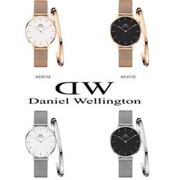 lunette gros personnalisé Promotion aaa Daniel Wellington montre dw Luxe Femmes Montre À Quartz 32MM Montres et Bijoux Bracelets Fashion Lady Horloge élégante avec boîte d'origine