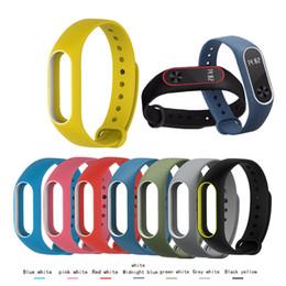 m2 reloj Rebajas Correa del reloj inteligente para Xiaomi Mi M2 Band Pulsera de silicona correa de reloj Reemplazo de la pulsera Deportes de goma Accesorios AAA1880