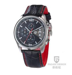 orologi di design pagani Sconti PAGANI DESIGN Orologi Uomo Cronografo multifunzione da uomo Orologio cronografo Dive 30m Orologio casual Relogio Masculino
