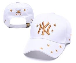 Hohe Qualität NY Baseballmützen Baumwolle New York Ball Kappen Sommer Frauen Sonnenhüte Outdoor verstellbare Männer Kappen Frauen Snapback Cap mit Tag Tasche von Fabrikanten
