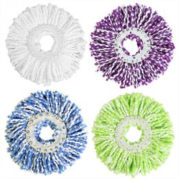 Wholesale 360 Вращающаяся Головка Сменный Magic Easy Spinning Floor Spin Аксессуары Бытовая Очистка Инструмент Швабра C19041701