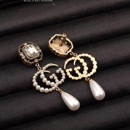 coeurs flèches boucle d'oreille argent Promotion Femmes boucles d'oreilles classiques en argent avec diamants en argent 925 cœurs et flèches plaqués en or blanc 18 carats, taille CZ