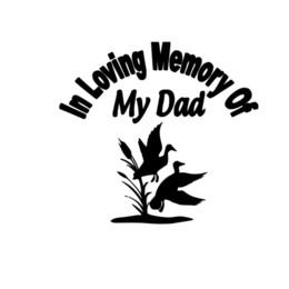 In Loving Memory Vinyl Sticker Decal Personalizzato Car Window Anatre Papà checkered parabrezza da