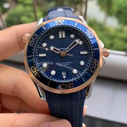 Luxury Mens meccanici 2.813 movimento automatico della vigilanza dell'acciaio inossidabile di James Bond 007 degli uomini del progettista degli uomini orologi moda master da polso da