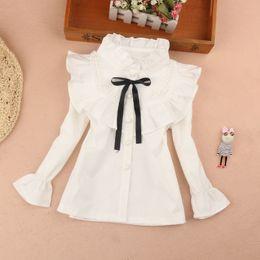 Short Sleeve England Flag Dog Paw Shirts for Girls 2-6T Ruffled Blouse Clothes with Falbala