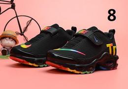 2019 el más nuevo cojín de aire de punto transpirable niños zapatillas niño niña niño deporte zapatillas tamaño 28-35 desde fabricantes