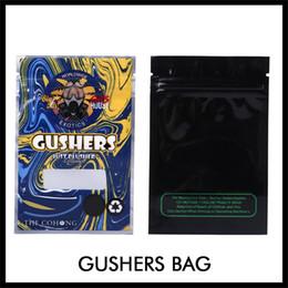 Apenas para sacos on-line-Os mais recentes Exotics Gushers Zipper Bag 3,5 g Childproof Vape Bolsa para Dry Herb Tabaco Flor Apenas Plushers Zipperlock