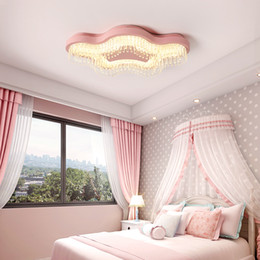 Chandelier led Modern overhead crystal fixtures childerns room lighting  baby boys girls Kids princess bedroom chandeliers lamp