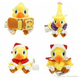 Fantasia finale della bambola online-All'ingrosso 6inch Chocobo Final Fantasy peluche giocattoli bambola